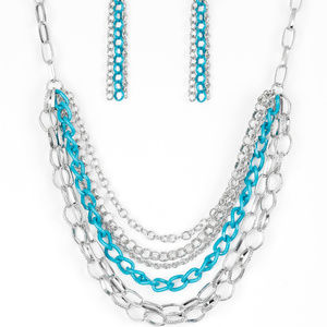 necklace w/ free earrings (nickel and lead free)